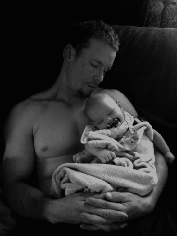 Swoonable dad of attachment parenting