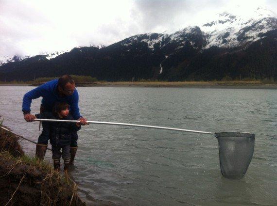 real dad fishing