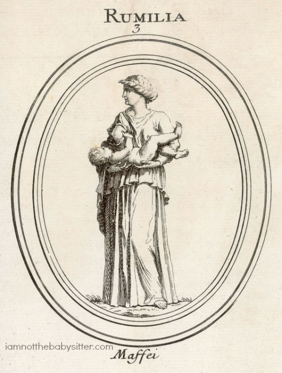Roman goddess of  breastfeeding.         Date: BCE