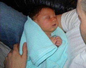 natural childbirth baby
