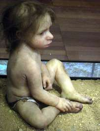neanderthal baby